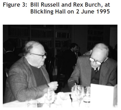 Bill Russell and Rex Burch 2 June 1995
