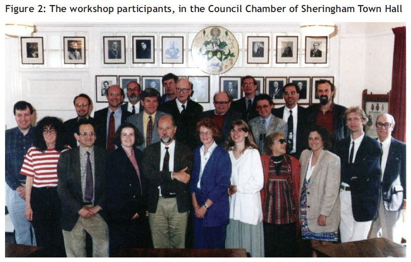 Workshop participants May 1995