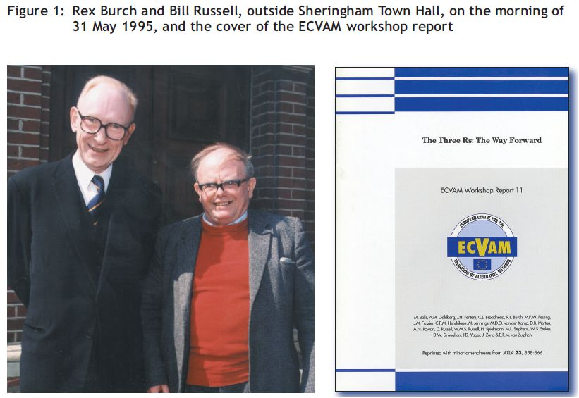 Rex Burch and Bill Russell 31 May 1995 and Ecvam Workshop report